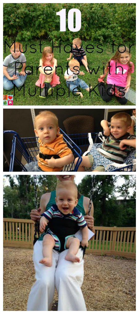 10 Must Haves for Parents with Multiple Kids on Food Wine Sunshine