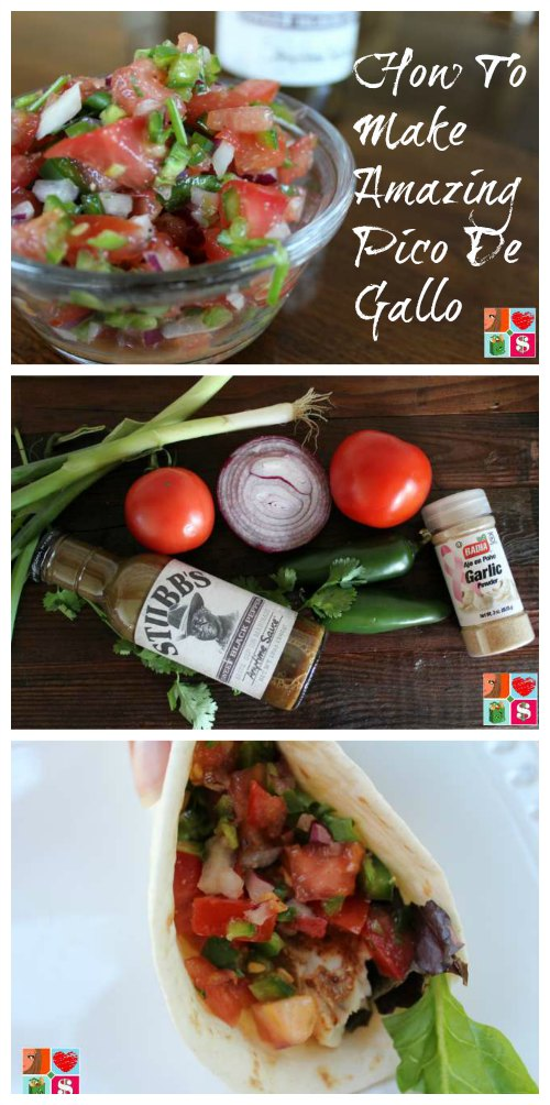 How To Make Amazing Pico De Gallo on Food Wine Sunshine