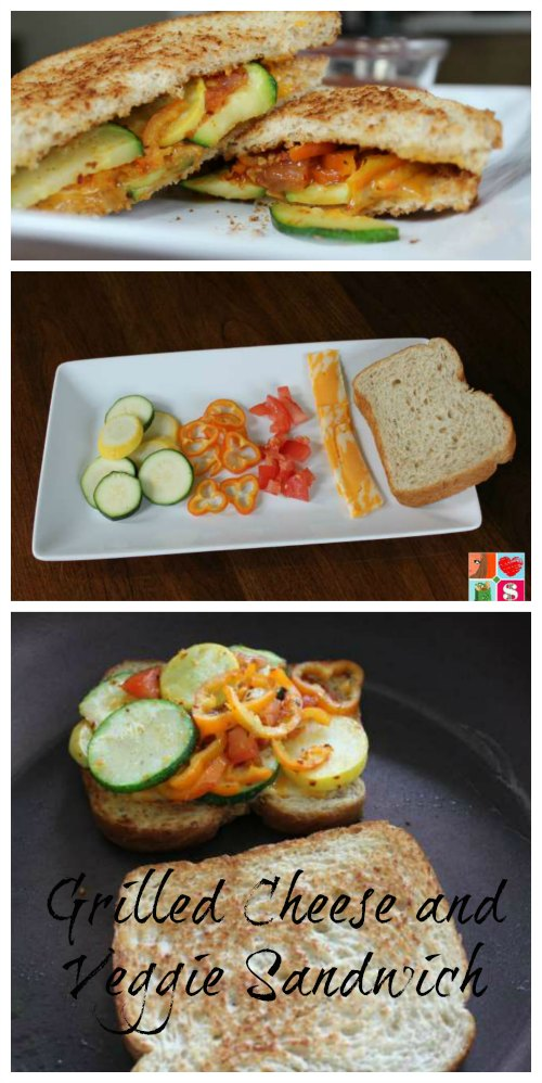 Grilled Cheese and Veggie Sandwich Recipe on Food Wine Sunshine