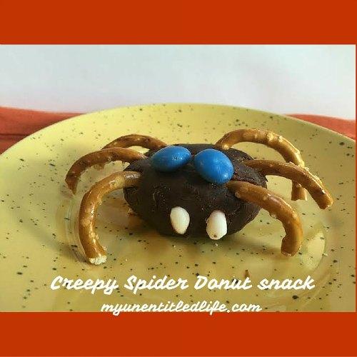 Creepy Spider Snack