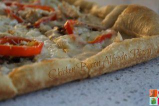 Chicken Bacon Alfredo Pizza Recipe