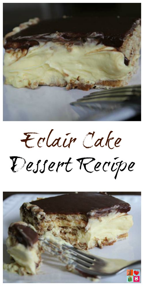 Easy Eclair Cake Dessert Recipe