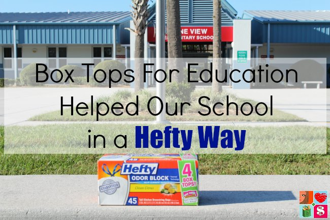 Box Tops For Education Helped Our School in a Hefty Way