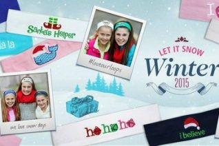 Personalized Headbands for Girls - Perfect Holiday Gift Idea