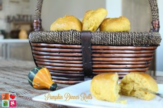 Pumpkin Dinner Rolls Recipe