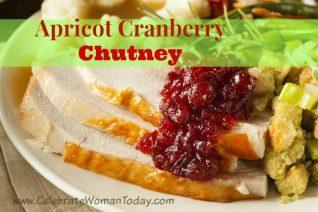 Apricot Cranberry Chutney Recipe