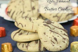 Rolo Peanut Butter Cookies Recipe
