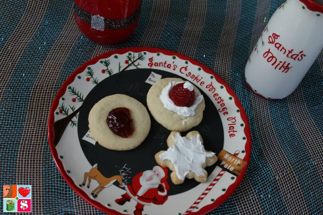 Santa Hat Christmas Cookies