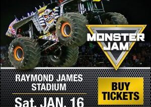 Monster Jam 2016 Show in Tampa