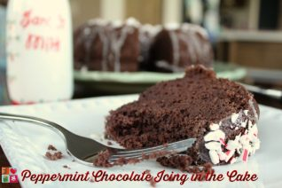 Peppermint Chocolate Icing in the Cake Recipe