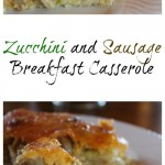 Zucchini and Sausage Breakfast Casserole