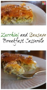 Zucchini and Sausage Breakfast Casserole Recipe on Food Wine Sunshine