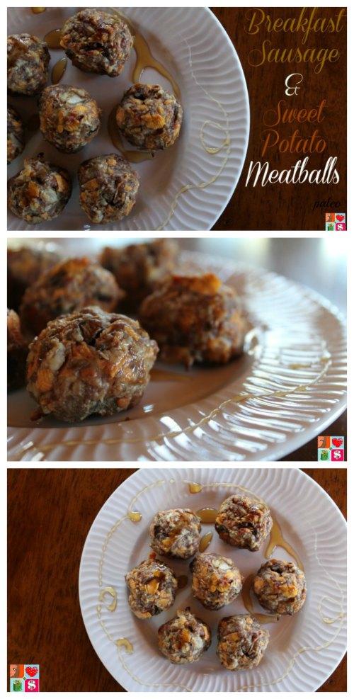 Tasty Breakfast Sausage and Sweet Potato Meatballs