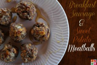 Breakfast Sausage & Sweet Potato Meatballs