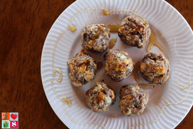 Breakfast Sausage & Sweet Potato Meatballs