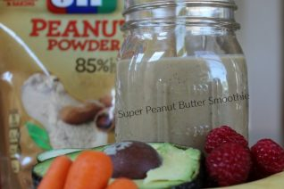 Super Peanut Butter Smoothie Recipe