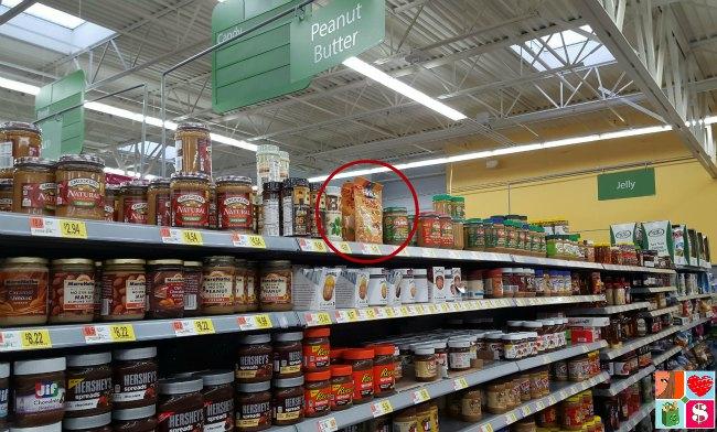 Jif peanut butter powder