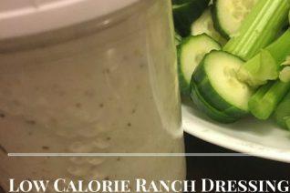 Low Calorie Ranch Dressing Recipe