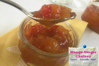 Mango Ginger Chutney Recipe