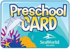 SeaWorld Preschol Pass