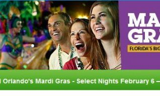 Univeral Orlando Mardi Gras Concert Line Up 2016