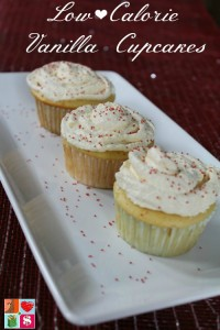 Low Calorie Vanilla Cupcakes Recipe