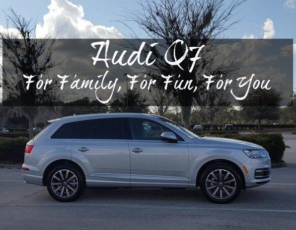 Audi Q7 Review on Food Wine Sunshine