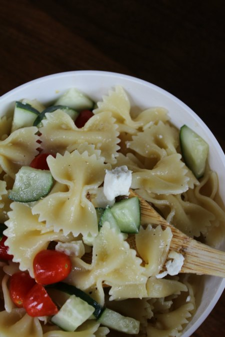 Lemon Pasta Salad on Food Wine Sunshine