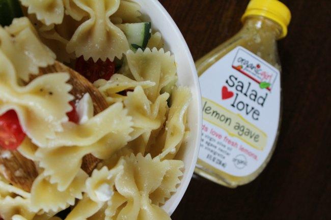 Lemon Pasta Salad on Food Wine Sunshine