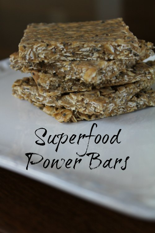 Superfood Power Bars Recipe