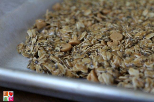Healthy Oatmeal Power Bars