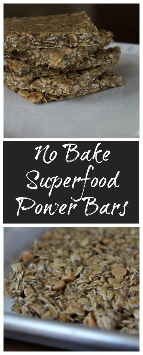 Best No Bake Superfood Power Bars Recipe
