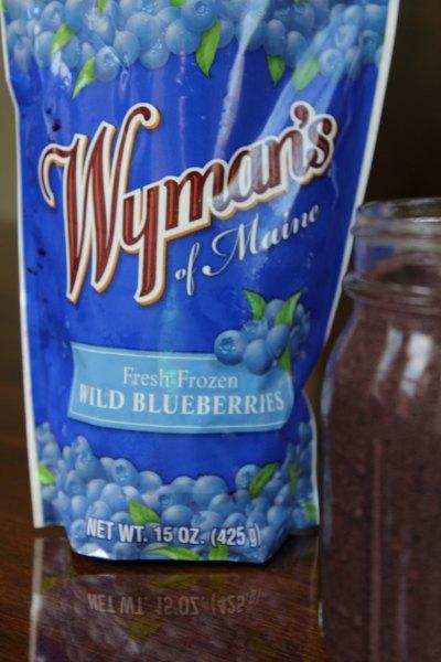 Easy Blueberry Protein Smoothie
