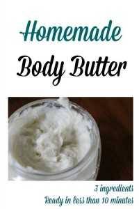 Homemade Body Butter With Shea Butter and Coconut Oil