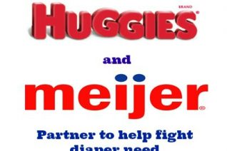 Huggies and Meijer partnered to help fight diaper need