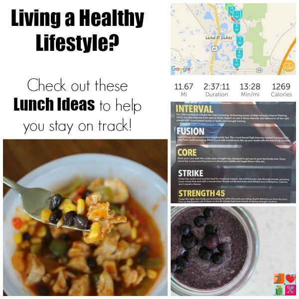 Healthy Lifestyle Lunch Ideas on Food Wine Sunshine and Cooking