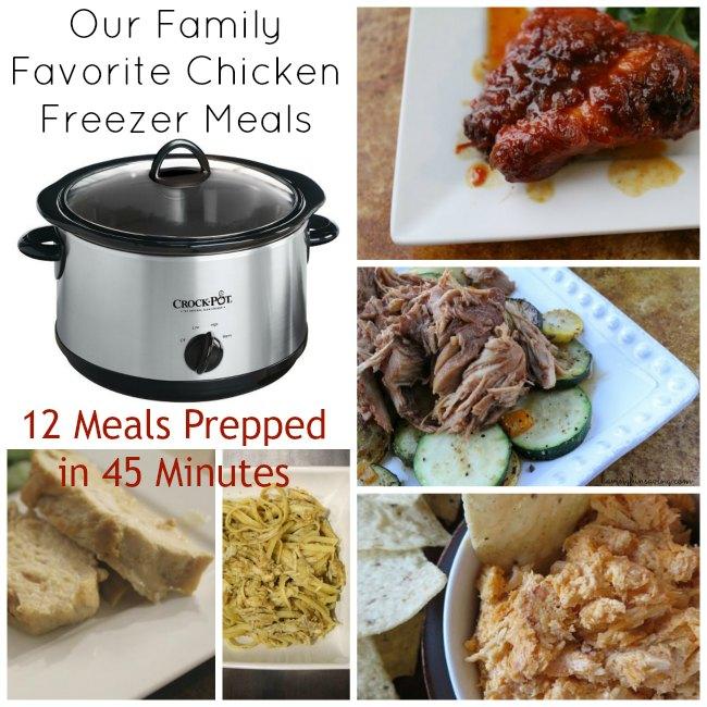 Chicken Freezer Meals
