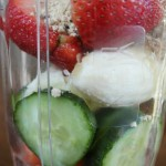 Peanut Butter & Fruit Power Smoothie on Food Wine Sunshine and Cooking