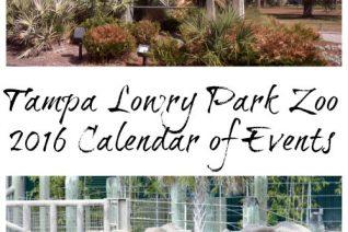 Tampa Lowry Park Zoo 2016 Calendar of Events on Food Wine Sunshine