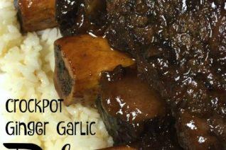 Crock pot Ginger Garlic Ribs recipe