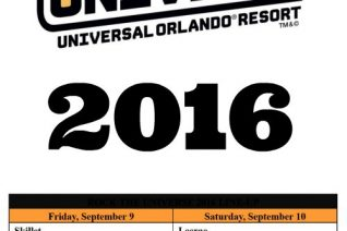 Rock the Universe at Universal Orlando 2016 on Food Wine Sunshine