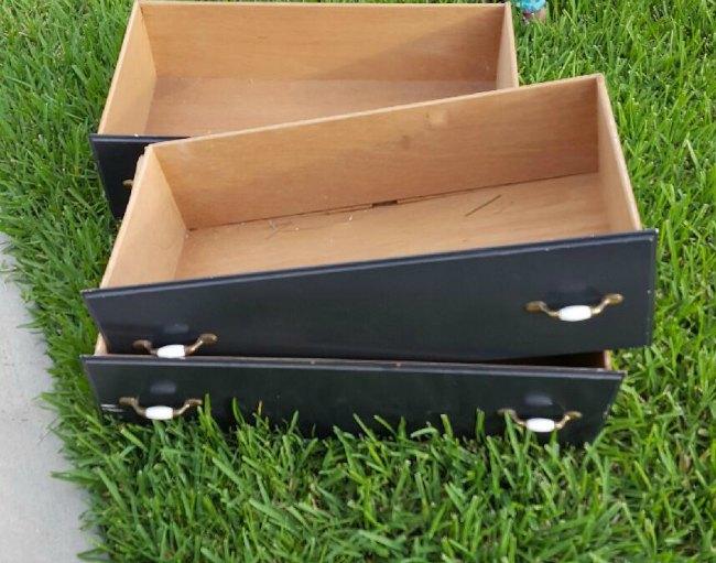 DIY Raised Outdoor garden boxes