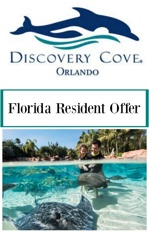 Discovery Cove Florida Resident Offer on Food Wine Sunshine
