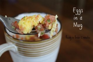Eggs in a Mug Breakfast
