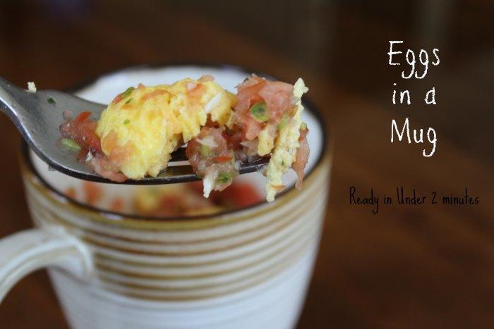 Eggs in a Mug Breakfast