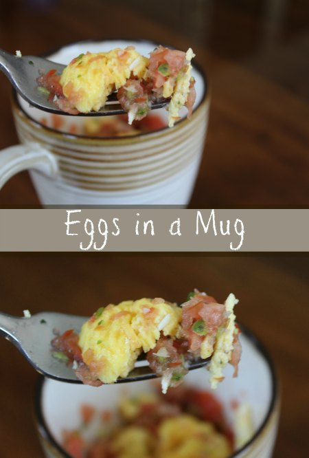 Eggs in a Mug Recipe on Food Wine Sunshine and Cooking