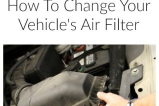 How To Change Your Vehicle Air Filter on Food Wine Sunshine