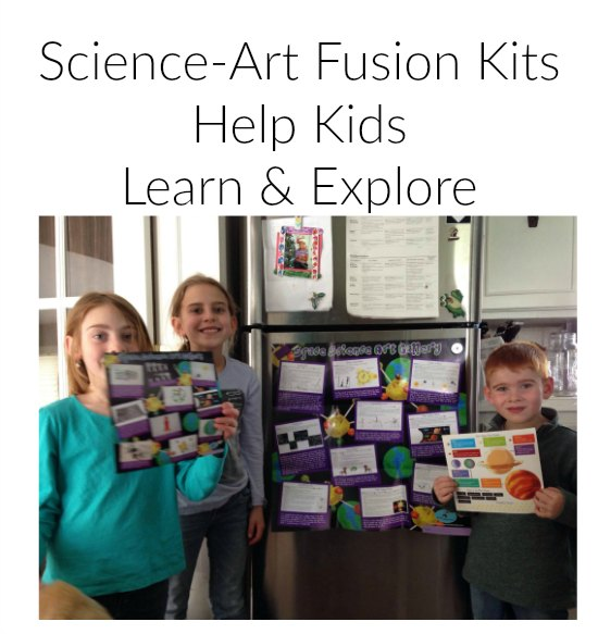 Science-Art Fusion Kits Help Kids Learn & Explore