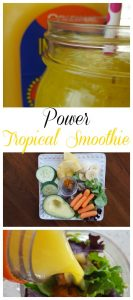 Power Tropical Smoothie Recipe on Food Wine Sunshine and Cooking