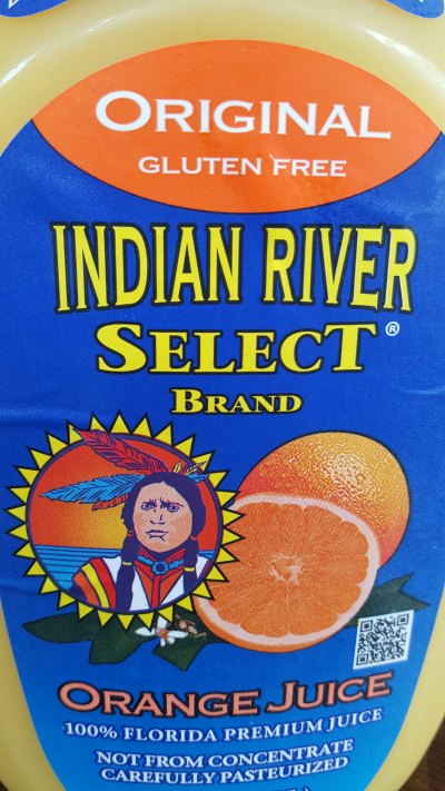Indian River Select Orange Juice in smoothie